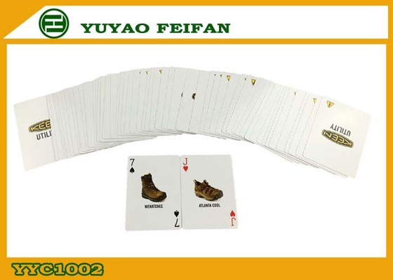 China Promotional Customizable Advertising Playing Cards Luxury Playing Cards supplier