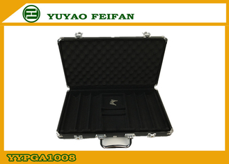 China Professional Play Gaming Accessories Poker Set Aluminum Case 385 x 225 x 65 Mm supplier