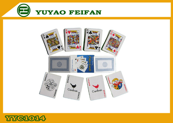 China Personalised Customized Playing Cards For Souvenir / Business Gift supplier