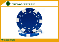China OEM Printable Plastic ABS Poker Chips GSV Certification Customised Poker Chips factory