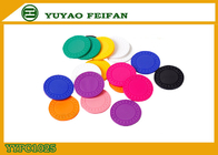 China Colorful Feifan Style Clay Material Custom Design Poker Chips 8g 40 X 3.3mm factory