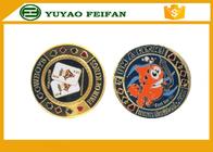 Professional Round Metal Poker Chips With Transparent Small Box