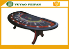 China Professional Modern Half Round Texas Holdem Poker Table With 8 Cup Holders factory