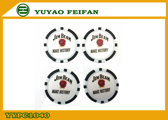 China Reasonable Personalized Custom Poker Chips SGS / ICTI Approve factory