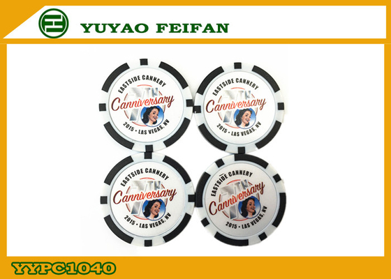 China JIM BEAM Order Custom Poker Chips Cheap PS Material For Promotion factory