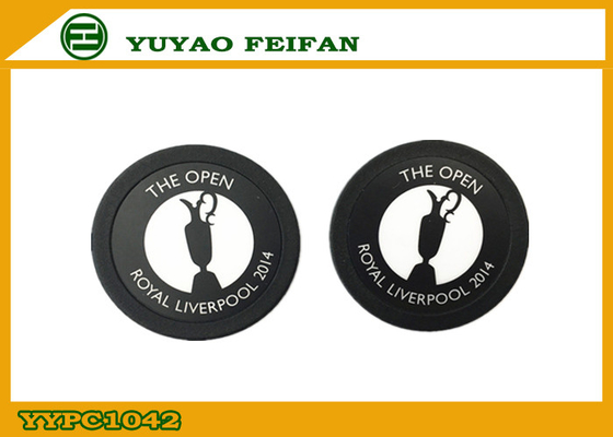 China 4G PP Custom Poker Chip Promotional Poker Chips With Two Side Stickers distributor