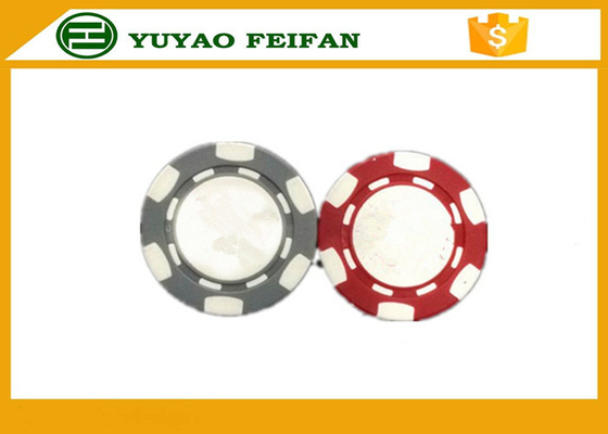China Mini Poker Chips Hard Feeling Plastic ABS Poker Chips With Silk Printing 20*3mm distributor