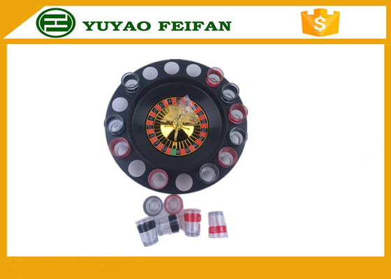 "China 32"" Roulette Wheel Casino Mini Lucky Roulette Wheel Poker Chips Sets With 16pcs Cups distributor"