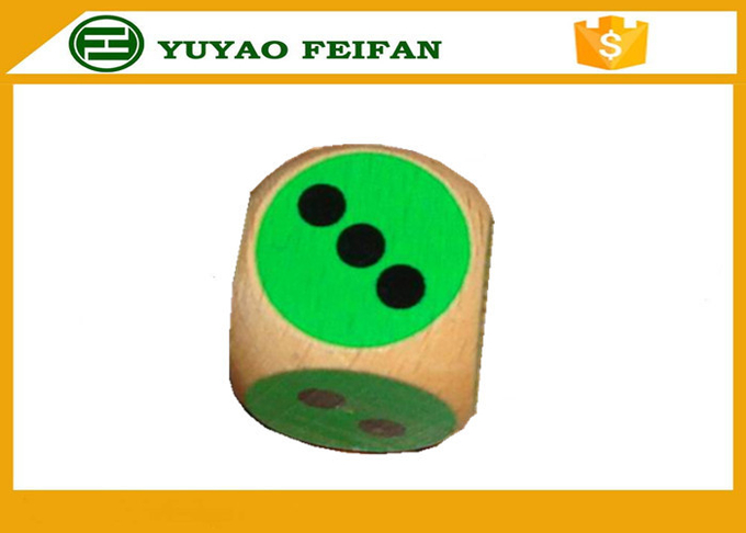 Wooden Custom Sexy 6 Sided Dice Sets For Children / Adult Dice Games