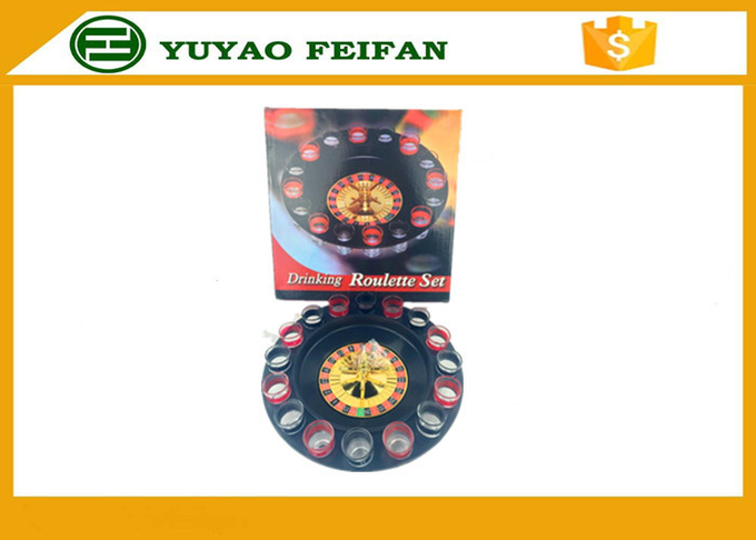 "32"" Roulette Wheel Casino Mini Lucky Roulette Wheel Poker Chips Sets With 16pcs Cups"